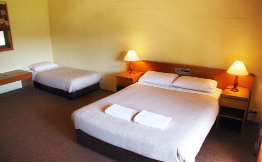 Rooms overlooking the Kiewa Valley